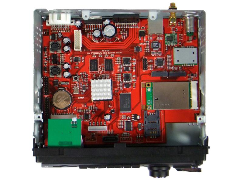 车载cd收音机电路板总图